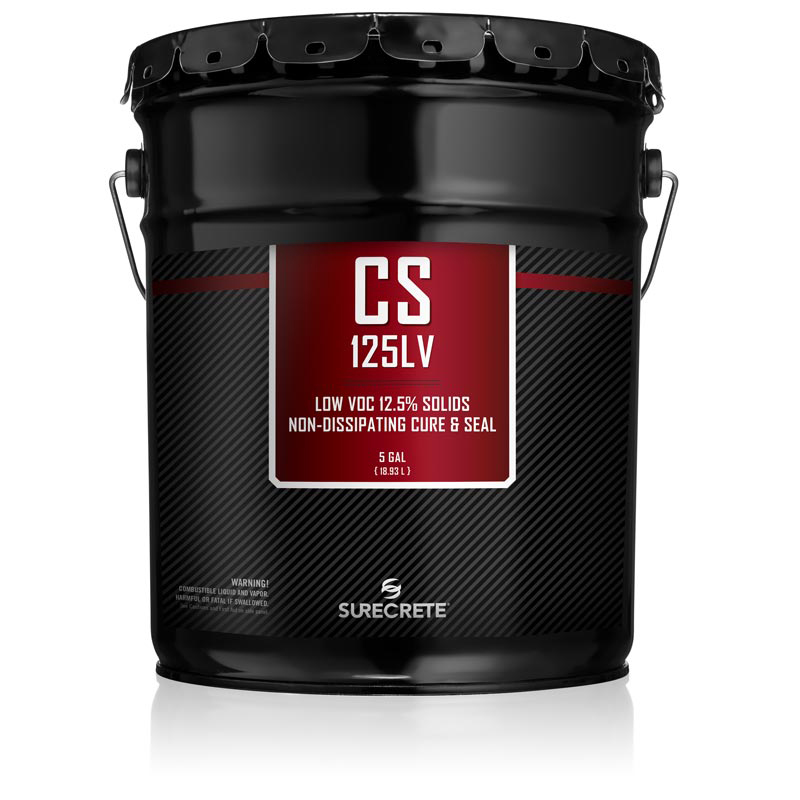 CS 125LV Concrete Cure and Seal SureCrete Authorized Distributor