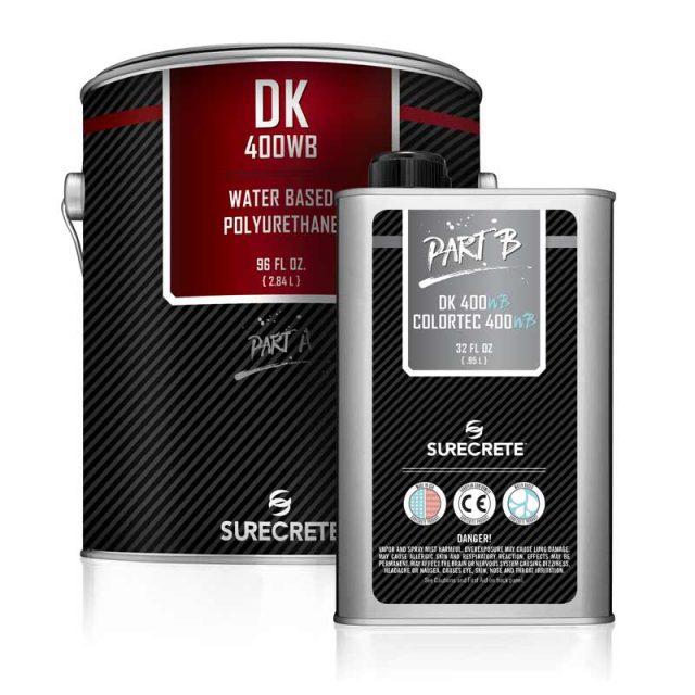 SureCrete's Dura-Kote DK 400WB™ water-based clear floor polyurethane