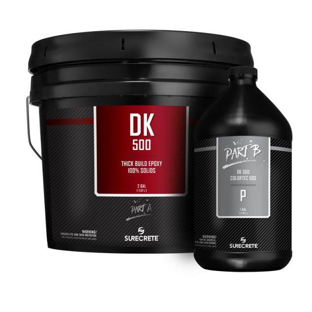DK 500™ SureCrete's Dura-Kote premium clear floor epoxy 100%