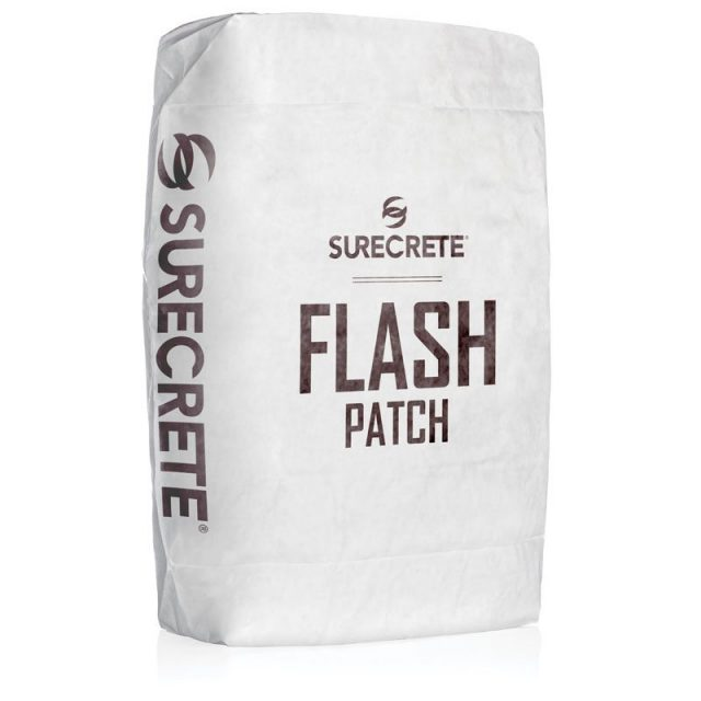 Flash Patch™ is a single component cement based thin concrete repair patching compound system providing a workable, no-slump patch that sets quickly for the quicker return to service.