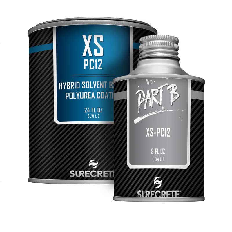 XS Pc12™ is a solvent-based clear high gloss concrete casting sealer that is UV stable and easy to apply