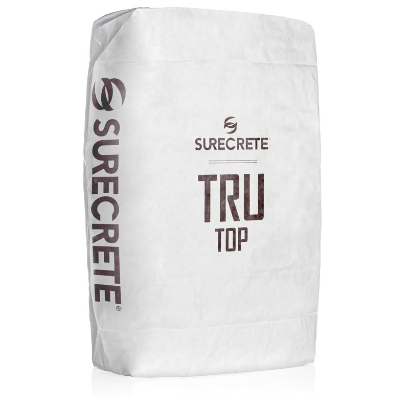 Thin Concrete Overlay Micro Topping Tight Troweled TruTop™ TruTop™ Micro Topping is a thin concrete overlay mix that can be applied on floors