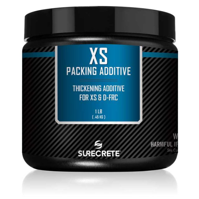 Xtreme Series concrete packing additive that thickens casting mixes to create voids