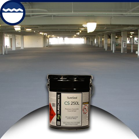 Low VOC Concrete Cure and Seal 25% Solids Surecrete