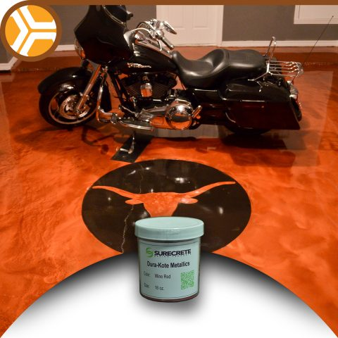 16 Oz Surecrete Metallic Additive For Epoxy Floor