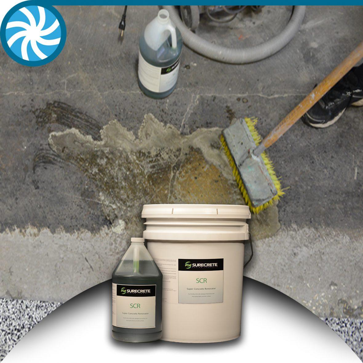 SCR Concrete Cleaner De-Greaser