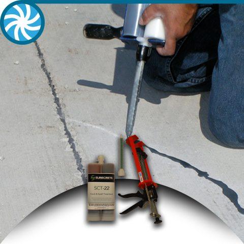 Surecrete Concrete Crack Repair Kit
