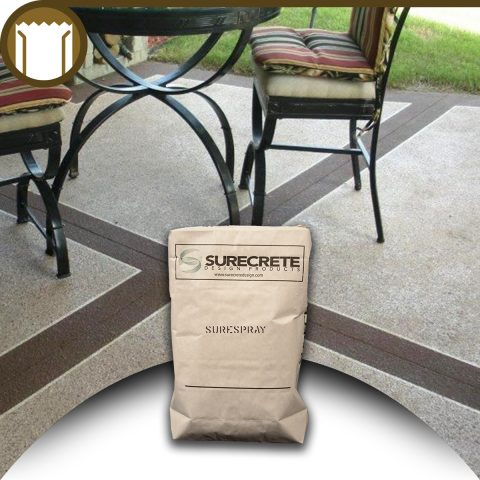 Surecrete 50 Lb Spray Concrete Overlay Mix