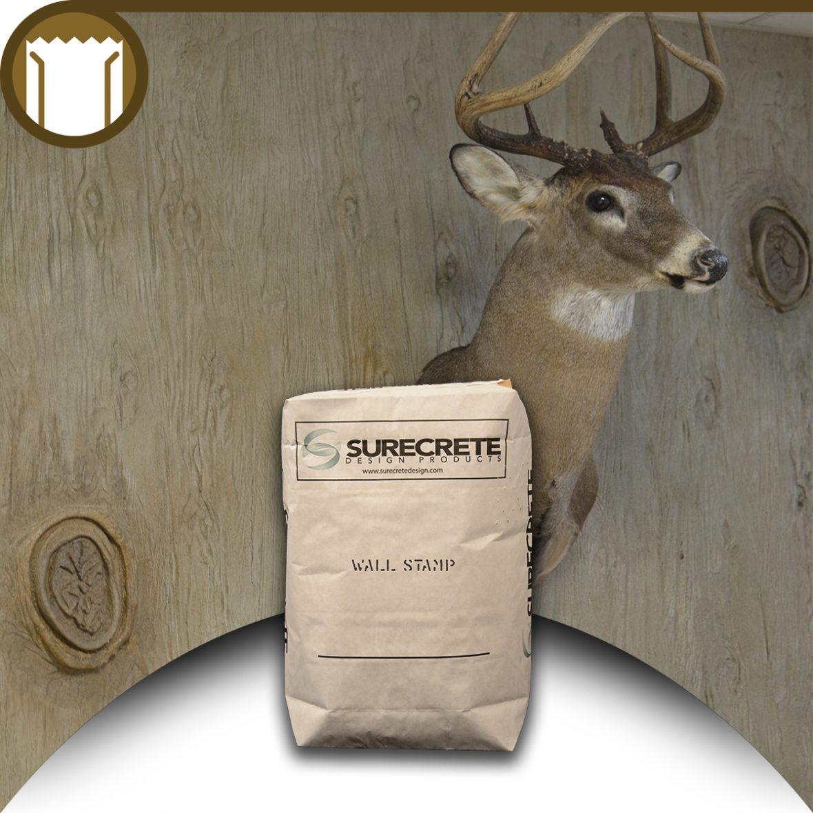 Surecrete 40 Lb Concrete Wall Stamp