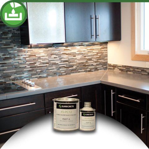 High Gloss Countertop Sealer Kit