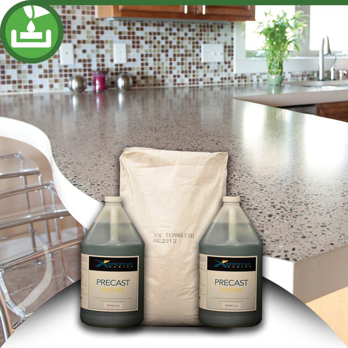concrete countertop casting mix kit bdc supply company