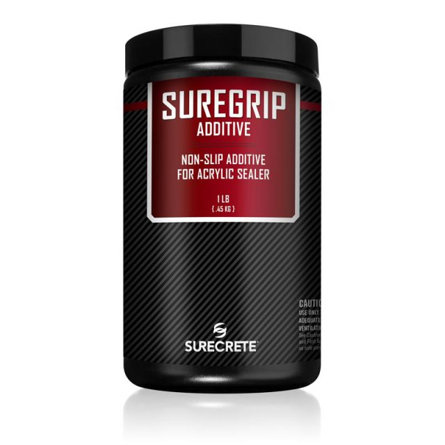 SureCrete's interior and exterior floor sealer non-slip grip additive SureGrip™