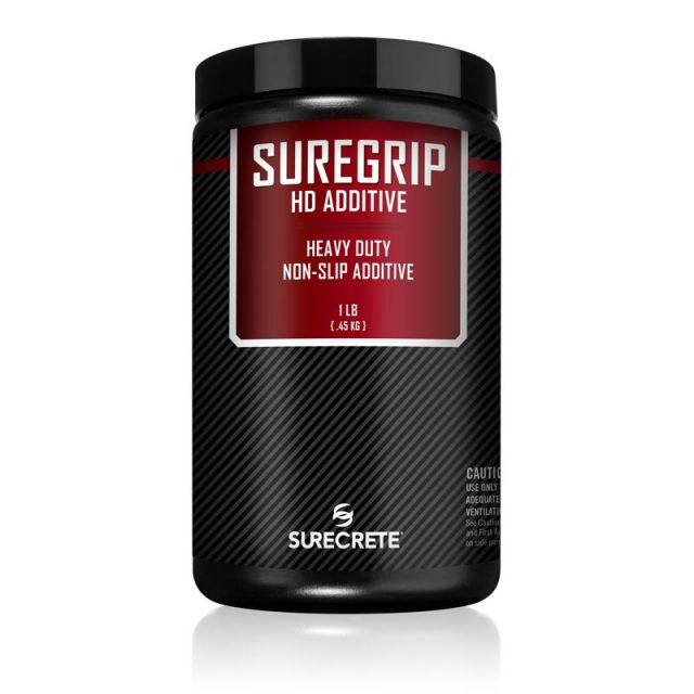SureCrete Authorized Distributor SureCrete's interior and exterior floor sealer non-slip grip additive SureGrip™