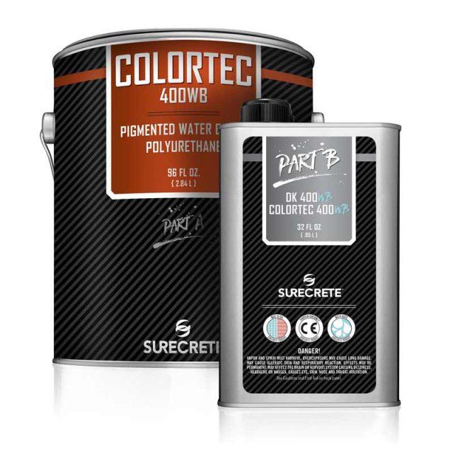 ColorTec 400WB™ commercial grade water-based colored floor polyurethane