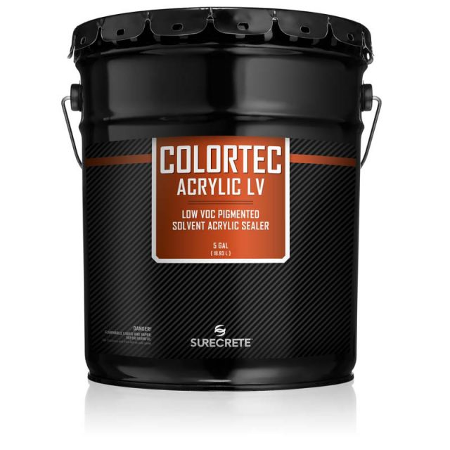 ColorTec Acrylic™ is an exterior concrete paint that can be used for coloring driveway and sidewalk