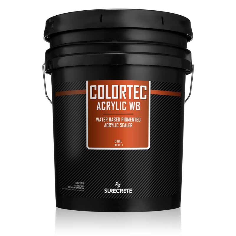 ColorTec AcrylicWB™ is a colored water-based outdoor concrete paint and sealer. Acrylic 30% solids, low VOC