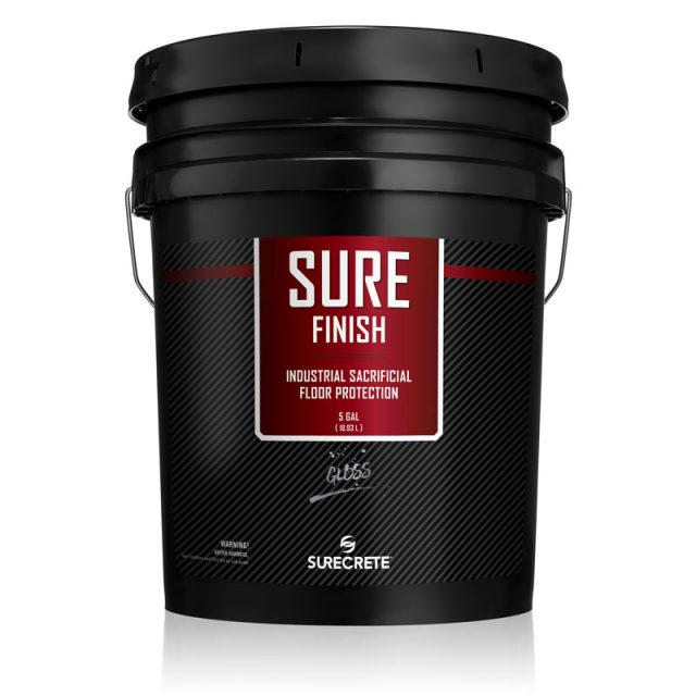 SureFinish is an industrial floor wax