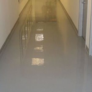 Clear Epoxy Floor
