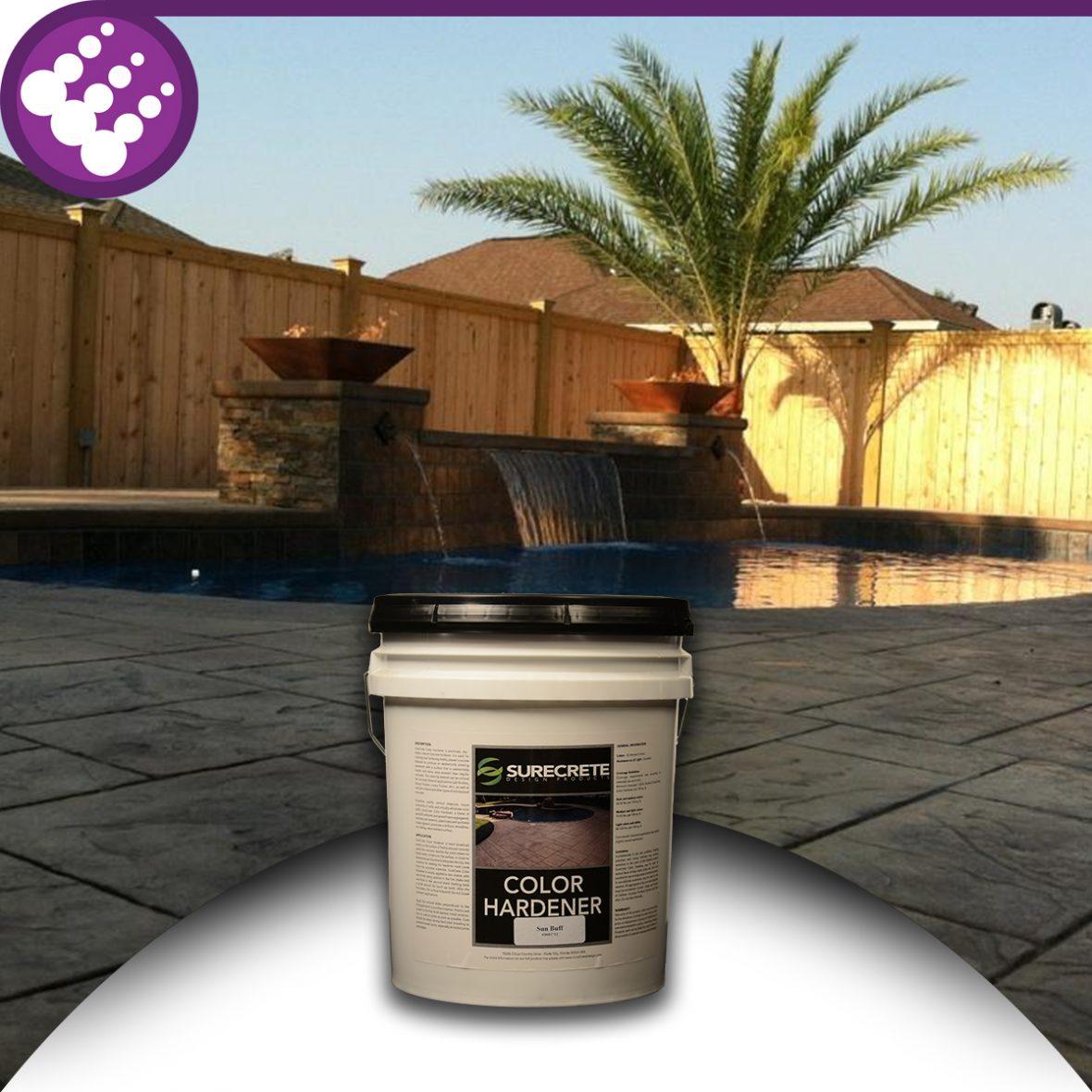 Surecrete Freshly Poured Concrete Color Hardener