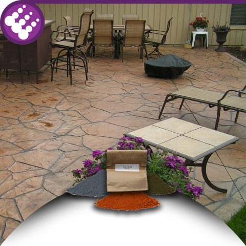 Decorative Concrete Color Additive for Overlays and Casting