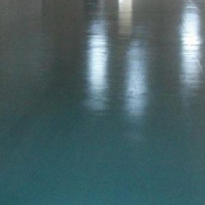 Colored Floor Polyaspartic