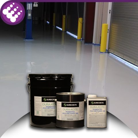 Surecrete Colored Water Based Concrete Polyurethane