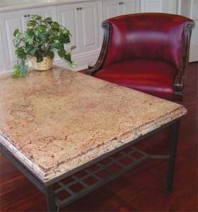concrete countertop mix small table