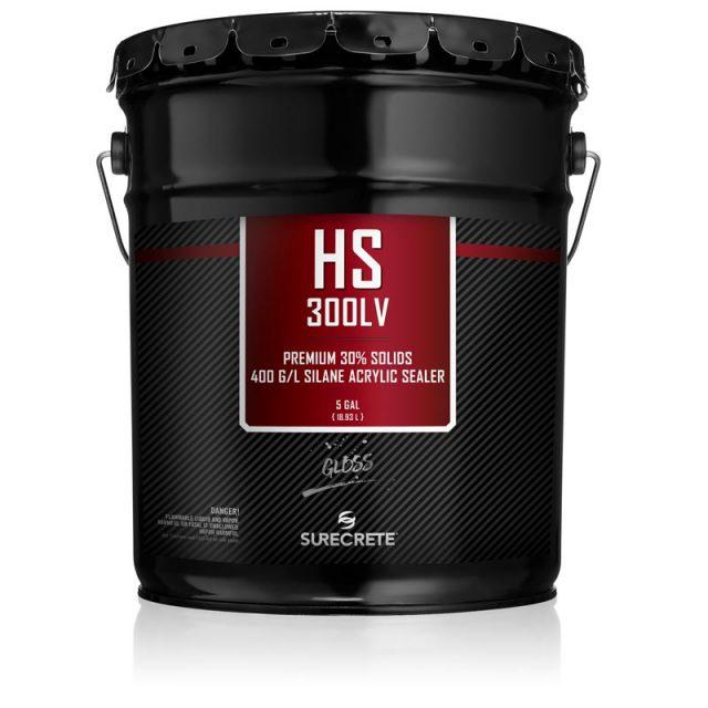 SureCrete's HS 300™ Series is a premium, high-performance, single-component, 30% acrylic solids sealer low voc